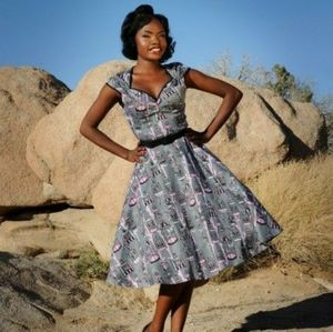 Pinup Couture Birdcage Heidi Dress